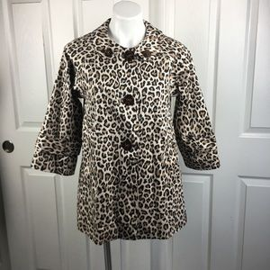 Forever 21 Leopard Cotton Swing